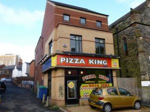 University Road Pizza King